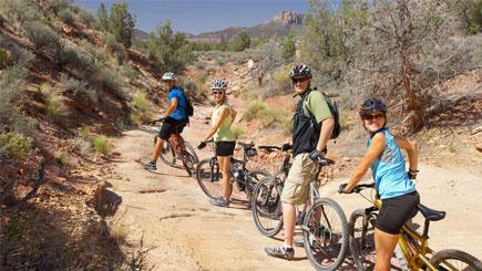 The Long View: Biking and Hiking Retreat